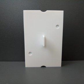 Заглушка для подрозетника  Deco